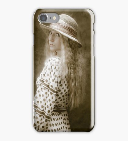 The look of vintage iPhone Case/Skin