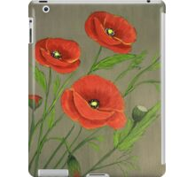 Poppies-3 iPad Case/Skin