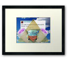 Based Canti Framed Print