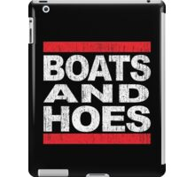 Boats and Hoes - Hip Hop Style iPad Case/Skin