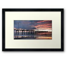 Colourful Sunset Framed Print