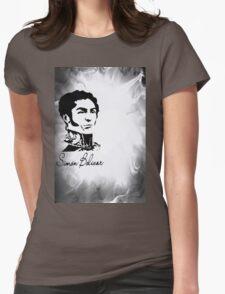 The Liberator Simon Bolivar II Womens Fitted T-Shirt