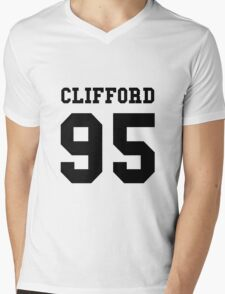 Michael Clifford 5 Seconds Of Summer Date Of Birth T-Shirt Mens V-Neck T-Shirt