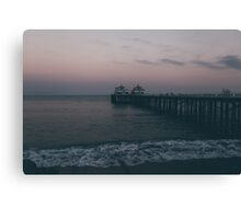 Malibu Sunset Canvas Print