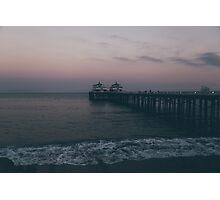 Malibu Sunset Photographic Print