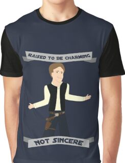 Han Solo: Raised to be Charming Graphic T-Shirt