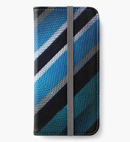 Fabric Texture Tech Pattern iPhone Wallet/Case/Skin