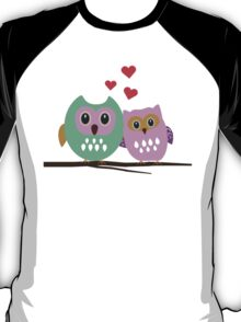 Owl couple T-Shirt