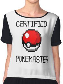 PokeMaster Chiffon Top
