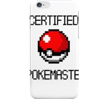 PokeMaster iPhone Case/Skin
