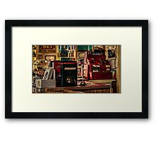 The Flying A Service Station Two Framed Print