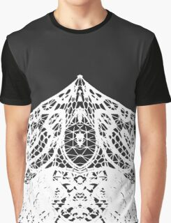 Lace in Modern Elegant Black and White Patterns Graphic T-Shirt