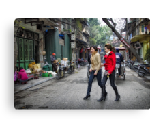 Vietnam: Striding Out Canvas Print