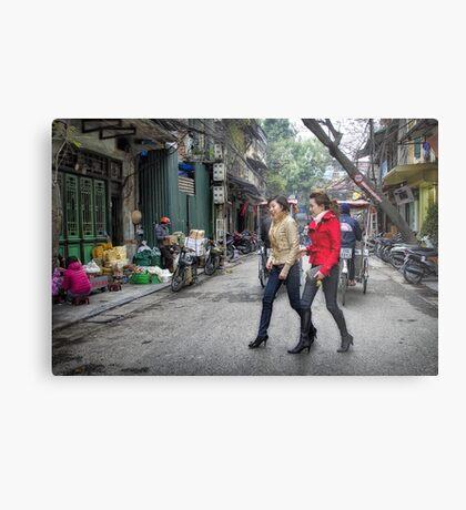 Vietnam: Striding Out Metal Print
