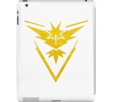 Pokemon Team Instinct Cloud Yellow iPad Case/Skin