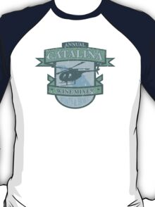 Vintage Catalina WIne Mixer - POW! T-Shirt