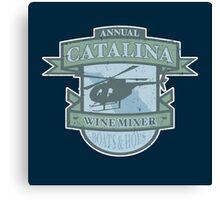 Vintage Catalina WIne Mixer - POW! Canvas Print