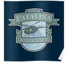 Vintage Catalina WIne Mixer - POW! Poster