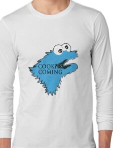 Cookies Are Comming Long Sleeve T-Shirt