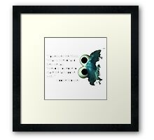 Cookies Qoute Framed Print