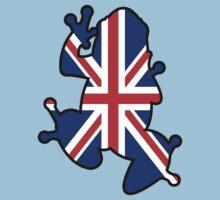British Union Jack Frog One Piece - Short Sleeve