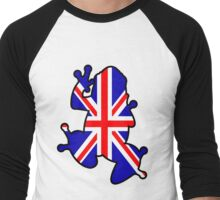 British Union Jack Frog Men's Baseball ¾ T-Shirt