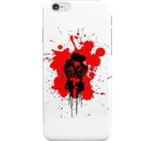 Skeleton Splatter iPhone Case/Skin