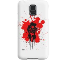 Skeleton Splatter Samsung Galaxy Case/Skin