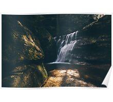 Hidden Falls - Hocking Hills  Poster