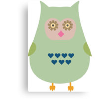 Fat Owl  Canvas Print