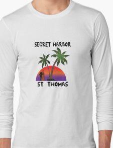 Secret Harbor St. Thomas Long Sleeve T-Shirt