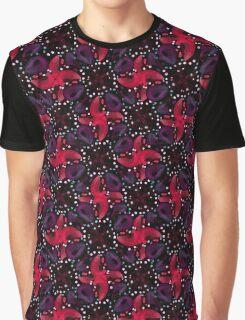 Dark Refined Luxury Pattern Graphic T-Shirt