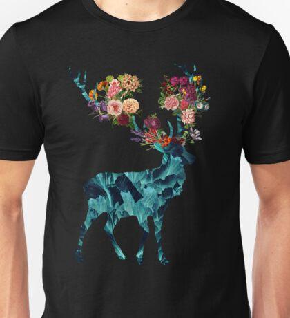 Spring Itself Floral Dark Unisex T-Shirt