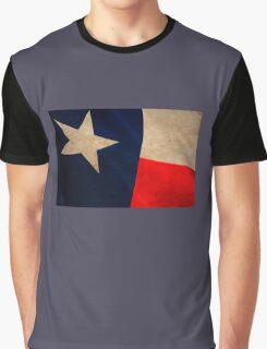 Vintage Texas Flag Graphic T-Shirt