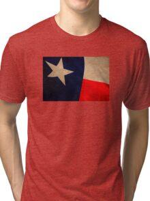 Vintage Texas Flag Tri-blend T-Shirt