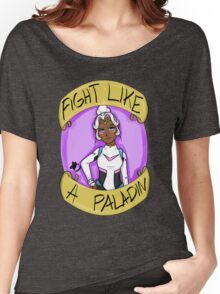 Fight Like A Paladin: Allura Women's Relaxed Fit T-Shirt