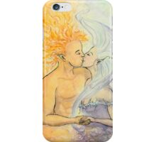 Night and Day Embrace iPhone Case/Skin