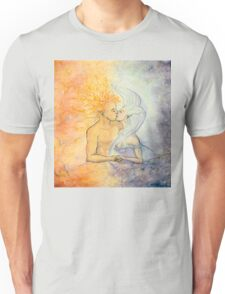 Night and Day Embrace Unisex T-Shirt