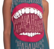 Just Laughing Contrast Tank
