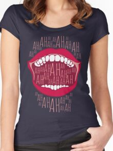 Just Laughing Women's Fitted Scoop T-Shirt