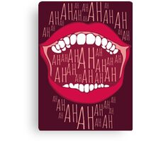 Just Laughing Canvas Print
