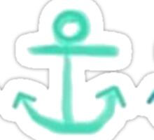 Ocean Anchors Tri Pack Sticker