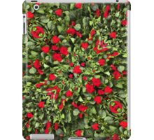 Flowers and Plants Pattern iPad Case/Skin
