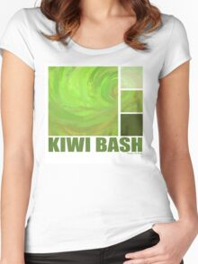 Kiwi Bash Women's Fitted Scoop T-Shirt