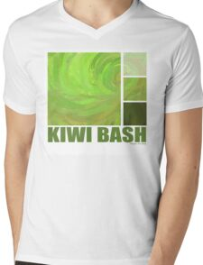 Kiwi Bash Mens V-Neck T-Shirt