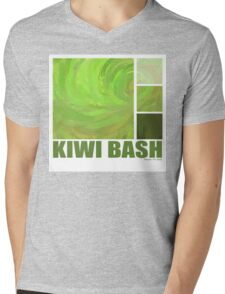 Kiwi Bash Mens V-Neck T-Shirt