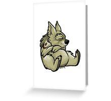 Druid Cuties - Bear Greeting Card