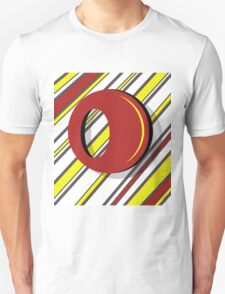 Red and yellow Unisex T-Shirt
