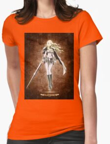 Teresa Blonde Womens Fitted T-Shirt