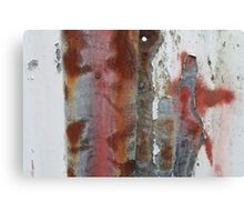 Corrugated Decay Canvas Print